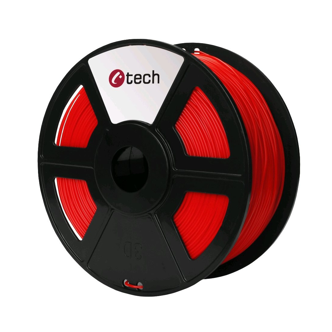 PLA filament C-TECH červená 1,75 mm 1 kg