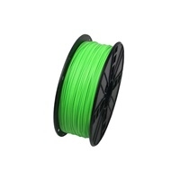 ABS filament Gembird fluorescentní zelená (Fluorescent Green) 1,75 mm 1 kg