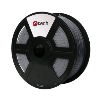 PLA filament C-TECH stříbrná 1,75 mm 1 kg