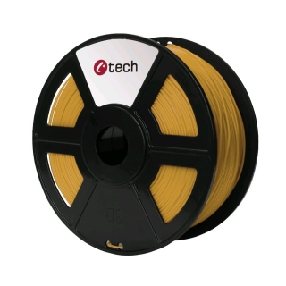 PLA filament C-TECH zlatá 1,75 mm 1 kg