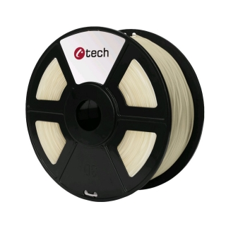 PLA filament C-TECH transparentní 1,75 mm 1 kg