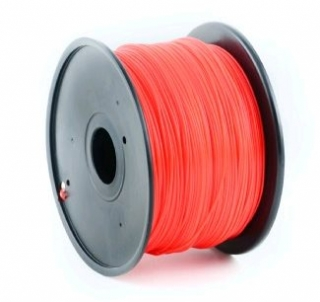 ABS filament Gembird červená 1,75mm 1 kg