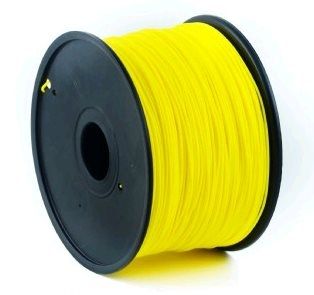 ABS filament Gembird žlutá 1,75 mm 1 kg