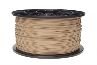 Wood filament světlý 1,75 mm 1 kg