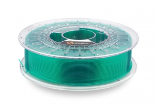 PLA filament Fillamentum Crystal Clear Smaragd Green 1,75 mm 750 g