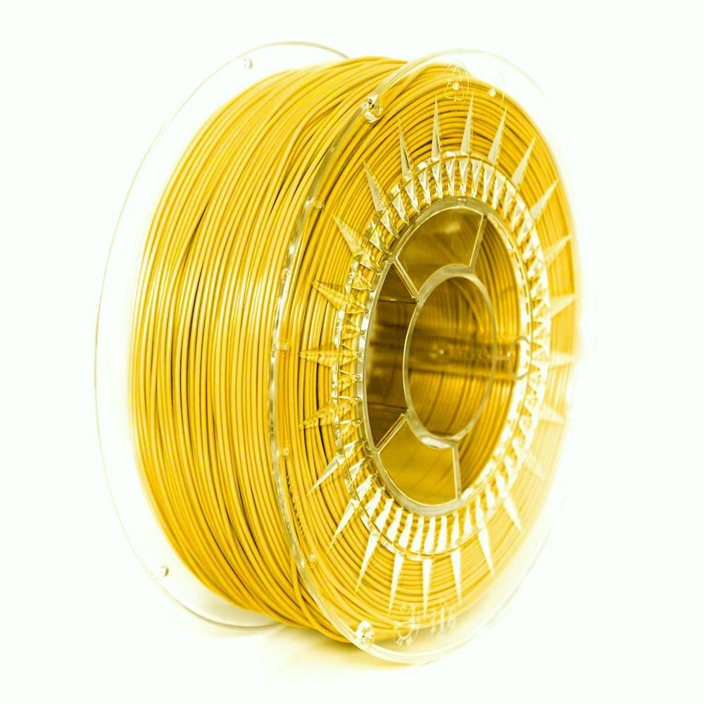 PETG filament Devil Design zářivě žlutá (bright yellow) 1,75 mm 1 kg