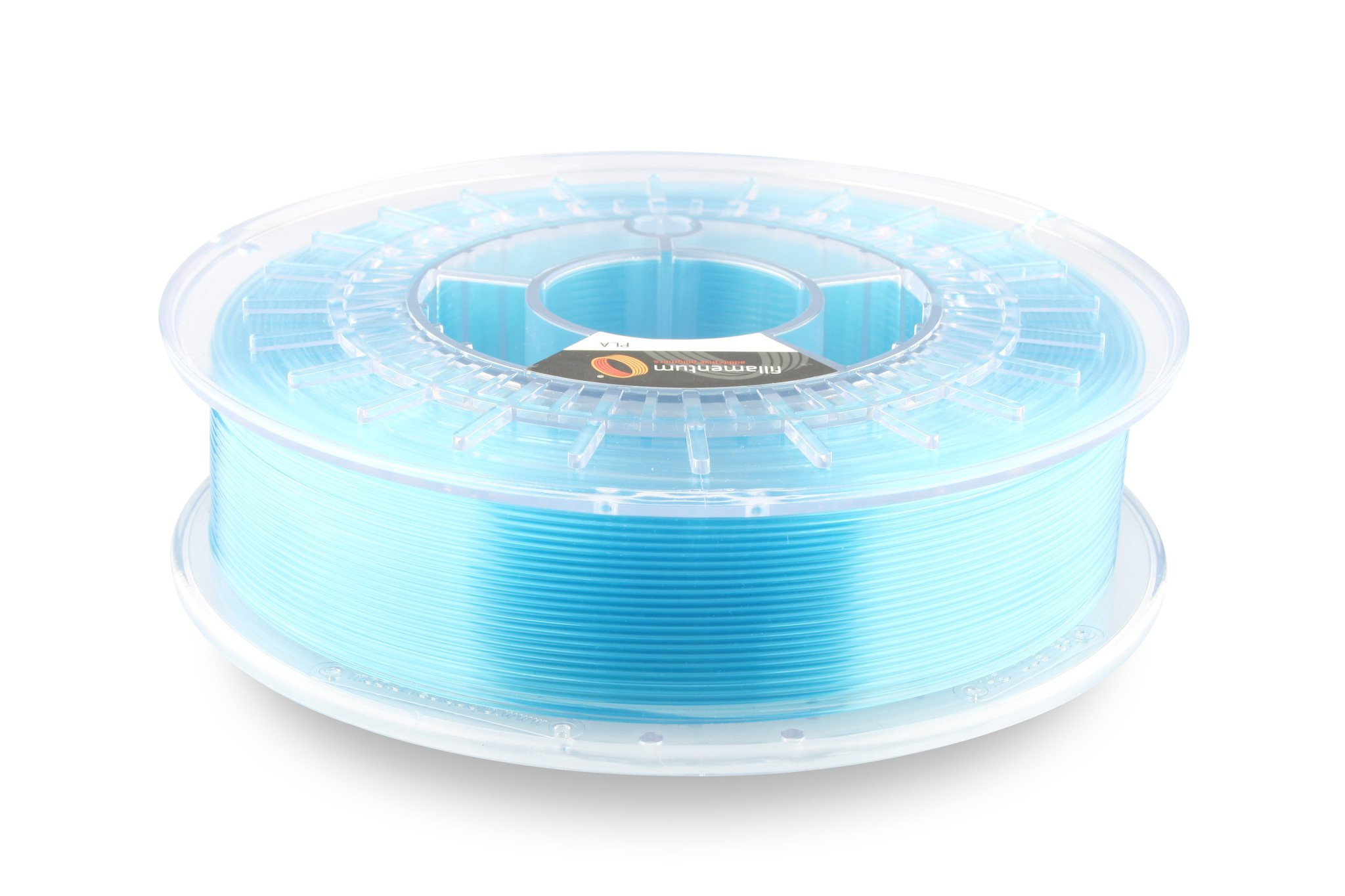 PLA filament Fillamentum Crystal Clear Iceland Blue 1,75 mm 750 g